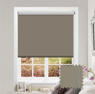 Brown Roller Blind - Bahamas Autumn Brown